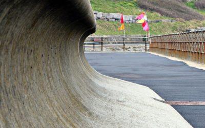 Sea Wall Repair Work
